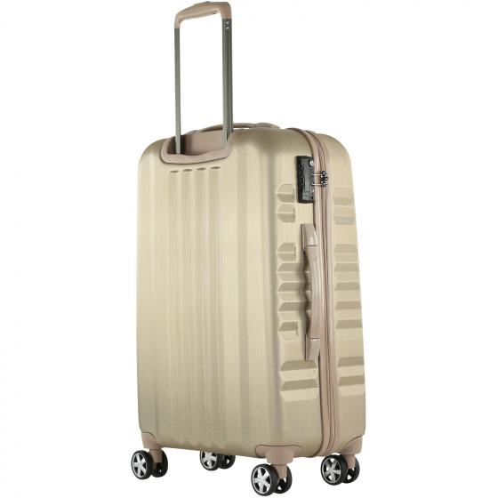Yearz-Fly 4-Rollen-Trolley M 65 cm gold brushed