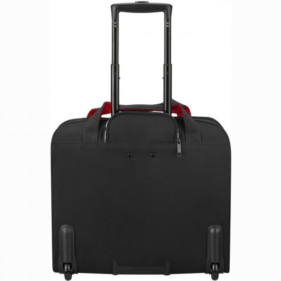 Parvis Plus 2-Rollen-Businesstrolley 44 cm schwarz