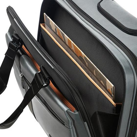 """Openroad Laptoptasche mit Rollen 16.4"""" 44.5 cm jet black"""