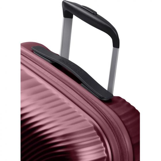 Jetglam 4-Rollen-Kabinentrolley 55/20 cm metallic grape purple