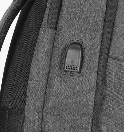 "Urban Groove UG USB Business Rucksack 15.6"" 47.5 cm anthracite grey"
