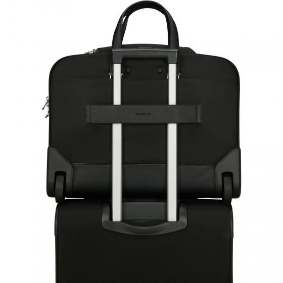 Zalia 2.0 Laptoptasche mit Rollen 43 cm black