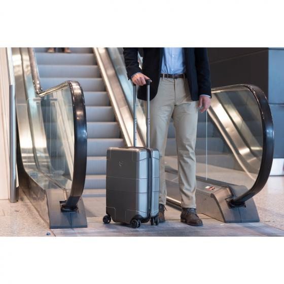 Lexikon Global Hardside  4-Rollen-Kabinentrolley 55 cm beetroot