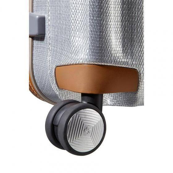 Lite-Cube DLX Spinner 4-Rollen-Trolley 76 cm aluminium