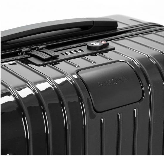 Essential Lite Check-In L 73 schwarz glänzend