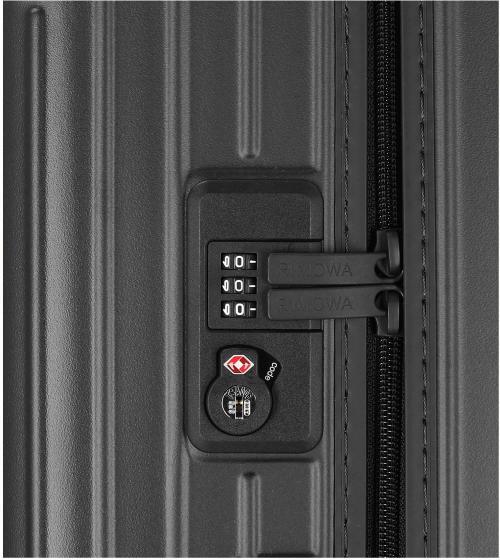 Essential Check-In L 73 schwarz matt