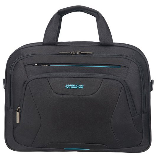 "At Work Laptop Bag / Aktentasche 15.6"" 41.5 cm black/orange"