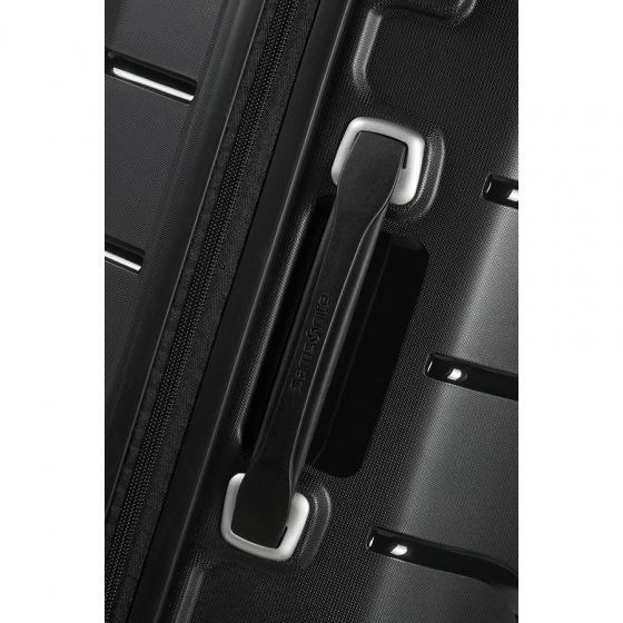 Flux 4-Rollen-Kabinentrolley 55 cm erw. black