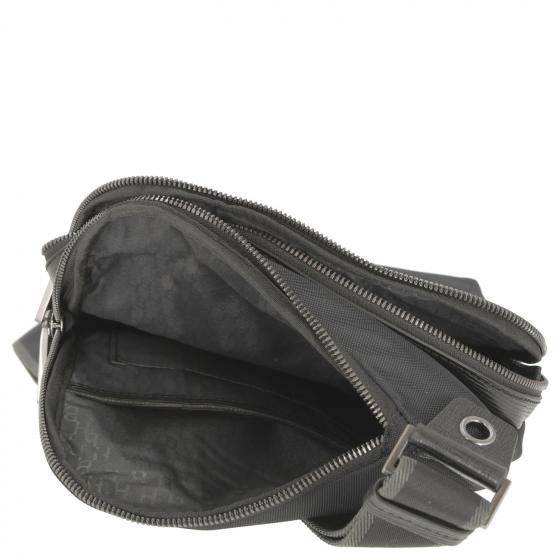 First Class Crossbody Umhängetasche 23.5 cm black