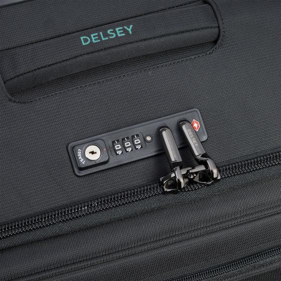 Helium Dlx 2.0 4-Rollen-Kabinentrolley 55 cm black