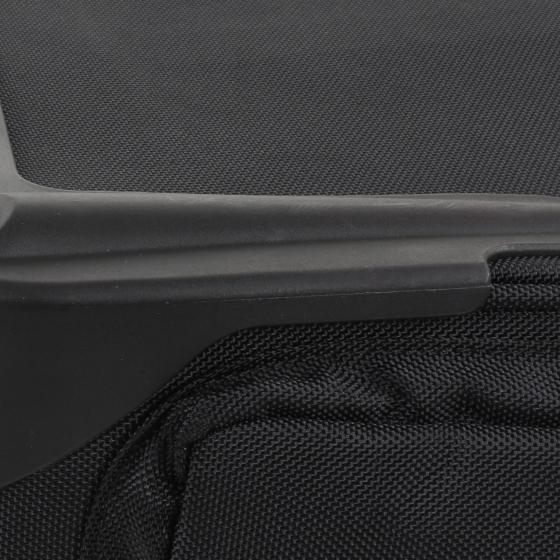 Business & Travel Pilotentrolley mit 2 Rollen 1680D Polyester 46 cm schwarz