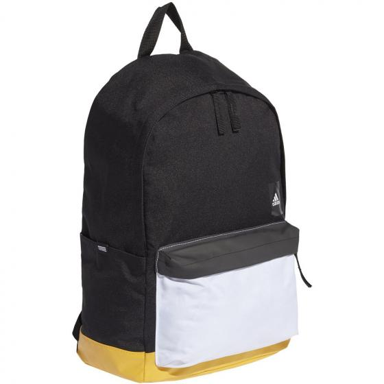 Classic Backpack Pocket 46 cm black/actgol/white