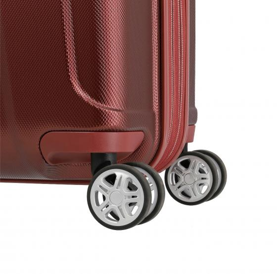 Elbe 4-Rollen-Trolley M 67 cm erw. red