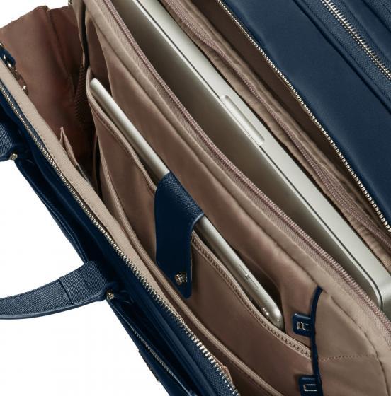 Zalia 2.0 Laptoptasche mit Rollen 43 cm midnight blue