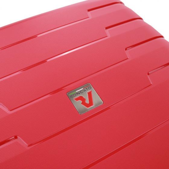 Skyline 4-Rollen-Trolley L 79 cm erw. rosso