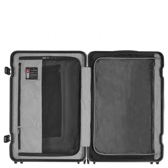 Lexicon Framed Medium Hardside Case 4-Rollen-Trolley 75 cm silver
