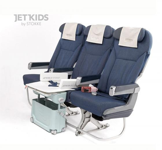 JetKids by Stokke® BedBox 46 cm green aurora