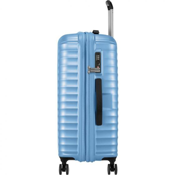 Jetglam 4-Rollen-Trolley 67/24 cm erw. metallic powder blue