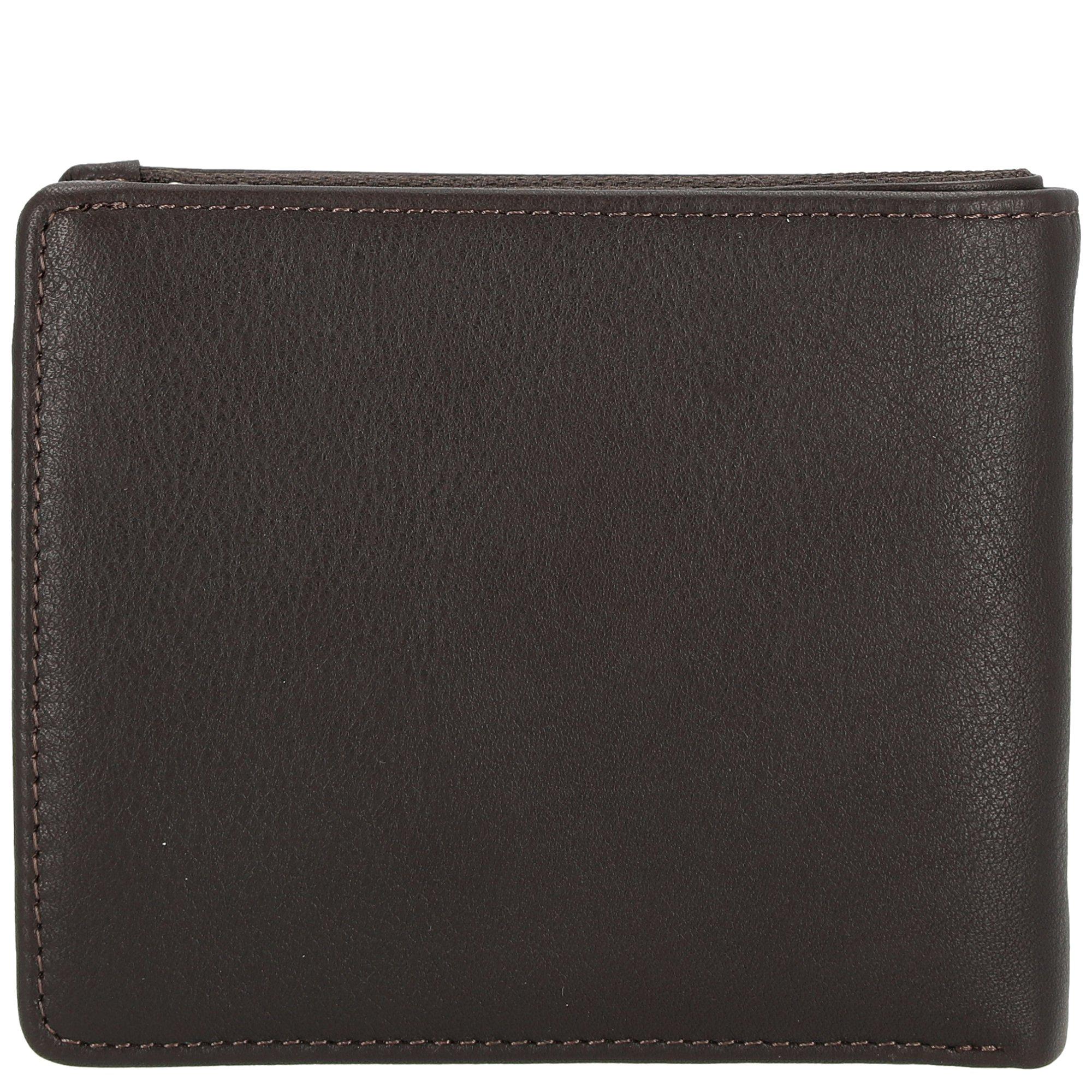 PICARD Brooklyn Wallet Geldbörse Portemonnaie Geldbeutel Braun Neu